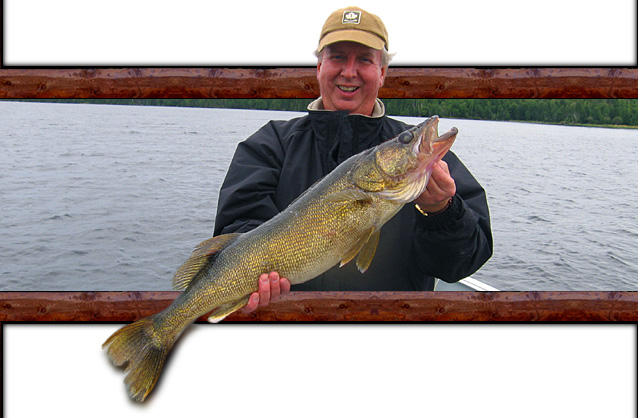 Lac Seul Walleye Fishing