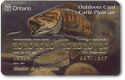 Ontario Outdoor Card for Americans & Non-Residence